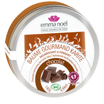 BAUME GOURMAND KARITÉ CHOCOLAT BIO – Emma Noël