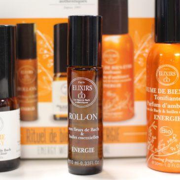 Les fleurs de Bach- coffret énergie- Elixirs and Co