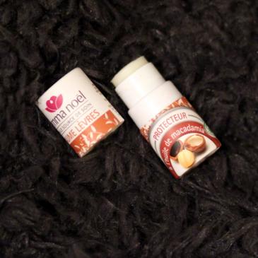 Le baume à lèvres protecteur à l'huile de macadamia – Emma Noël