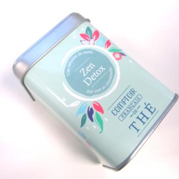 Le thé zen detox du comptoir Français du thé