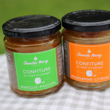Les confitures Famille Mary + concours