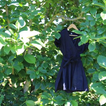 La robe courte so 70's de chez Shein