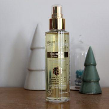 l'huile sèche sublimatrice Nectar Doré par Centifolia