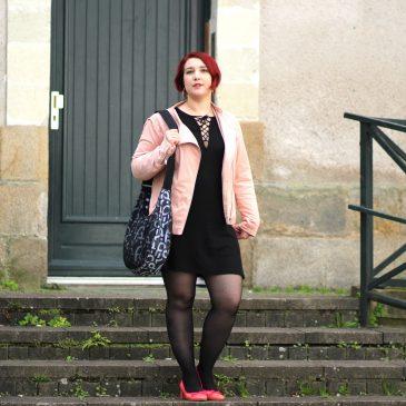 Look mode Nantais : en rose et noir