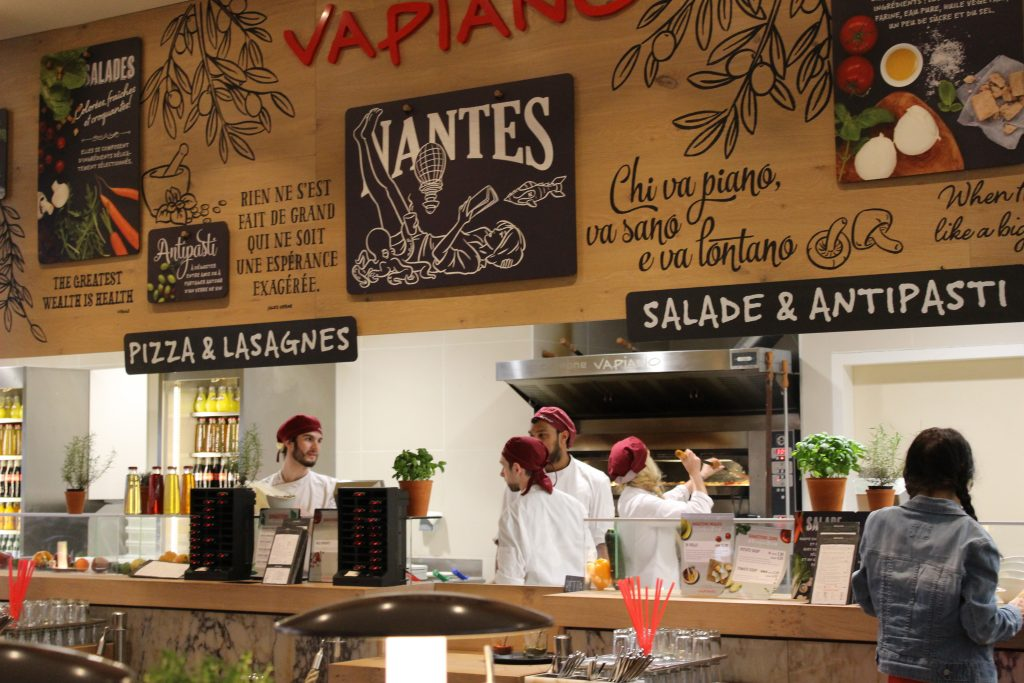 le restaurant vapiano atlantis girls n 39 nantes blog mode beaut et lifestyle nantes. Black Bedroom Furniture Sets. Home Design Ideas