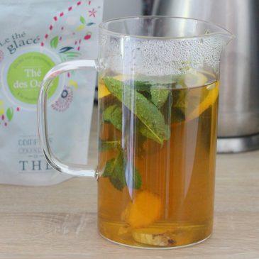 SOS chaleurs – Recette de thé glacé maison