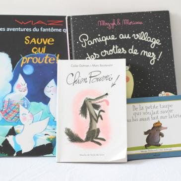 Idées lecture : 4 livres décalés pour enfants