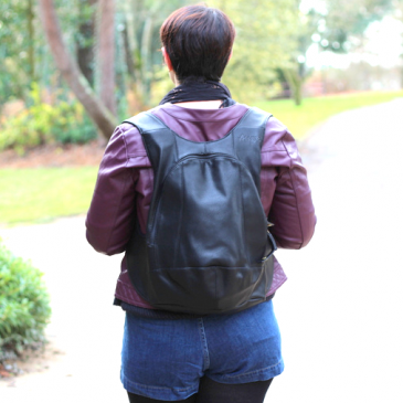 Un look avec mon sac à dos chouchou :  Arsayo