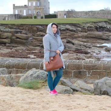 Un look dans le froid du Finistère