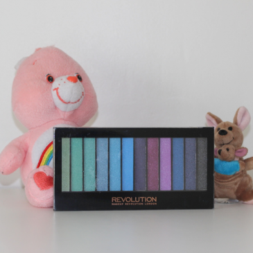 La palette Makeup Revolution Mermaids Vs Unicorns