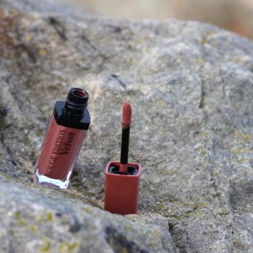 Rouge Edition Velvet Bourjois – La couleur Trop brunché