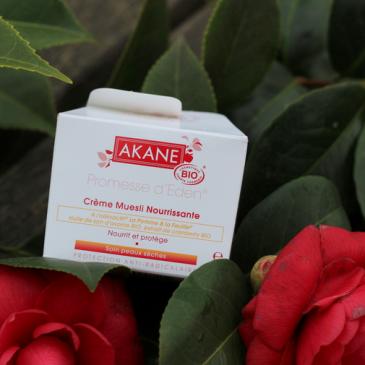 Akane – Rituel Peaux sèches BIO – le petit déjeuner de la peau