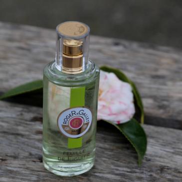 L'eau Parfumée Bienfaisante feuille de figuier par Roger&Gallet