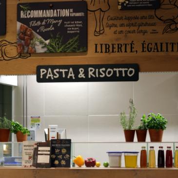 Les recettes végétariennes par Vapiano