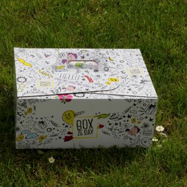 On fête notre anniversaire avec Box Ze Day !
