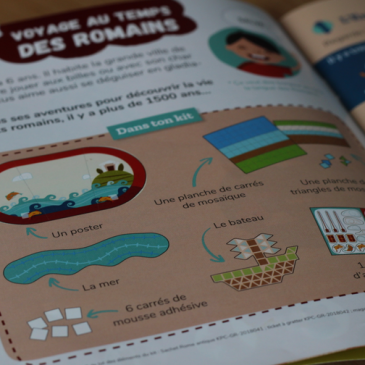 Pandacraft – la Rome antique – avril 2018