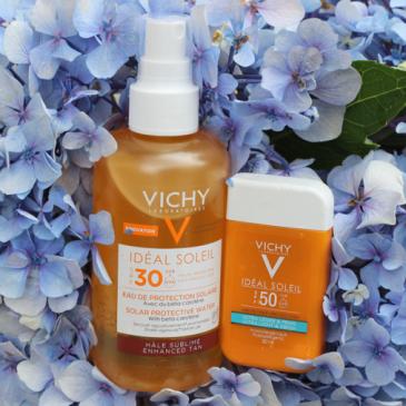 Ideal Soleil – L'eau de protection solaire Hydratante par Vichy