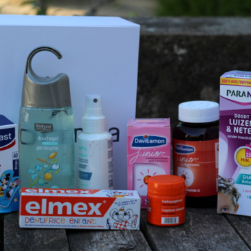 La box Back to School par Newpharma