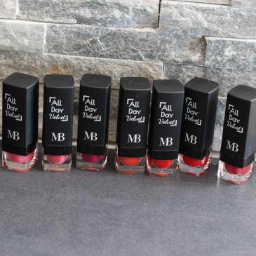 La gamme de rouges à lèvres mats par Miss Broadway Milano