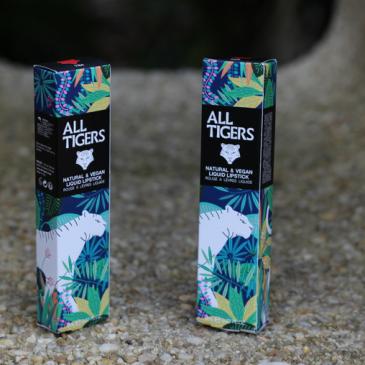 Test et avis sur les rouges à lèvres liquides naturels et vegans All Tigers