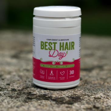 Test et avis du complément alimentaire pour la pousse des cheveux Best Hair Day