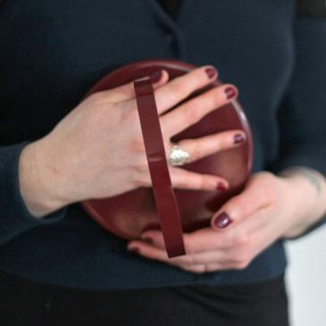 Designerbox – Miroir à poser Ring