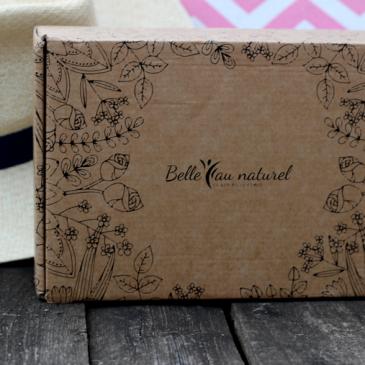 La box Belle au Naturel d'août Evasion Estivale (spoil)