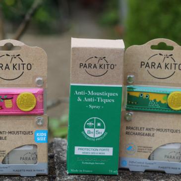 Dehors les moustiques avec Para'Kito