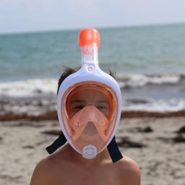 Le masque Easybreath junior de Subea – test et avis