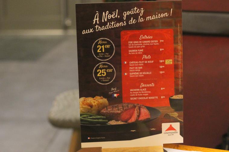 Le Menu De Noël S Invite à Courtepaille Girls N Nantes