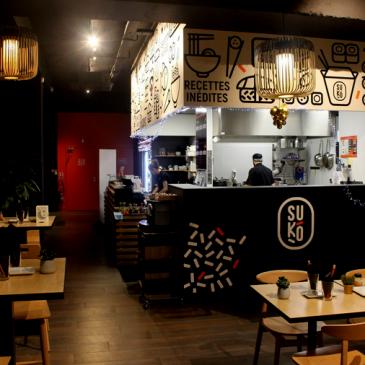 Test et avis du restaurant Suko sur l'Ile de Nantes
