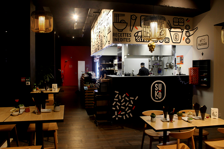 suko restaurant ile de Nantes