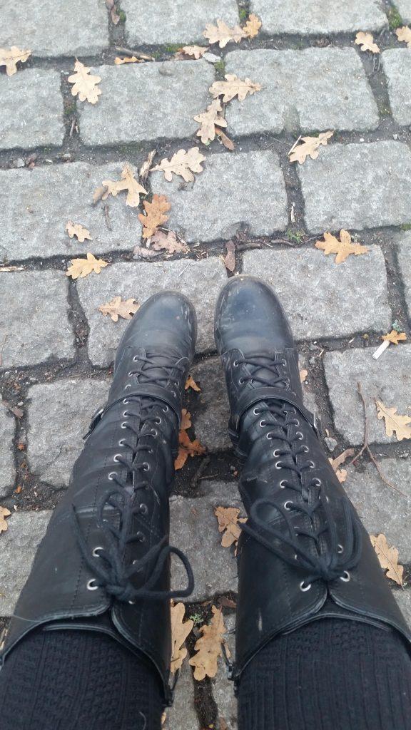 bottes femme rock