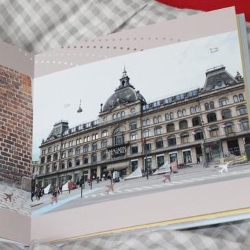 Coucher ses souvenirs sur un livre Photo Brillant satiné