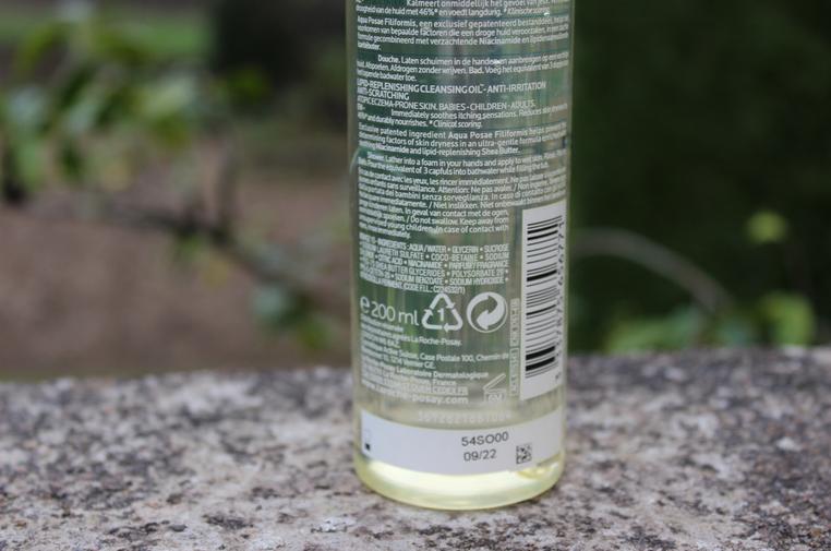 composition huile lavante