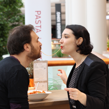 Italian Kiss: Menu St-Valentin pour 2 chez Vapiano