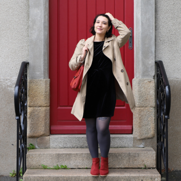 Look : Velours mon amour
