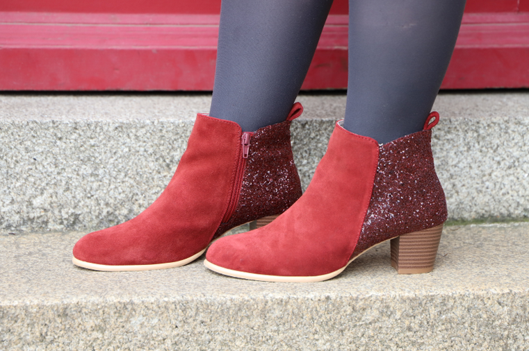 boots rouges