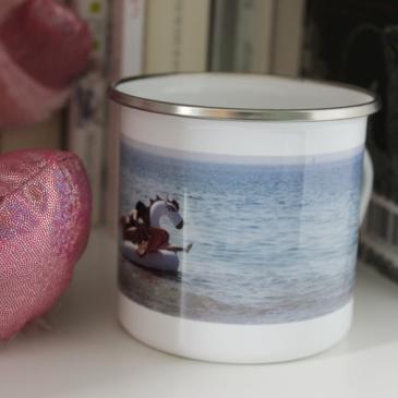 Cadeau personnalisé : le mug émaillé