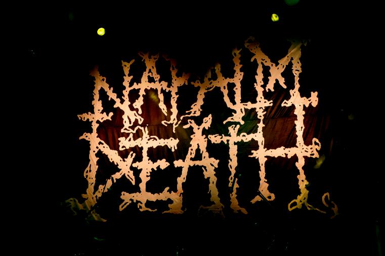 logo napalm death