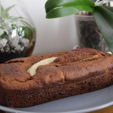 Banana Bread vegan aux pépites de chocolat (et moelleux)