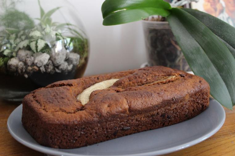 banana bread pépites de chocolat