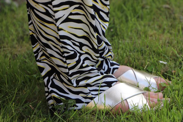 sandales Blancheporte dorées