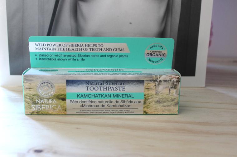 dentifrice menthe natura siberica