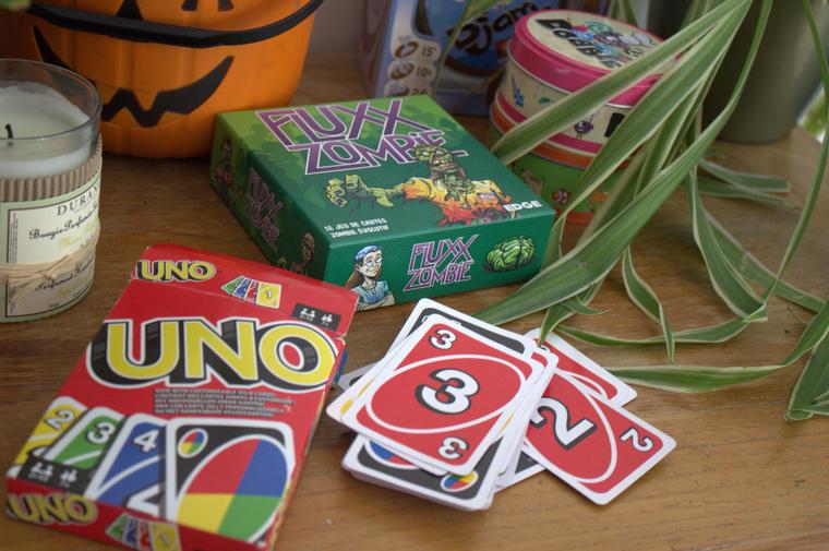 jeu de société Uno