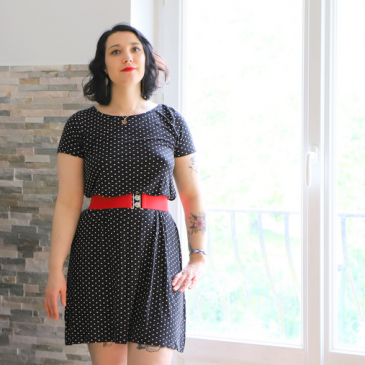 Look : petits pois et pin up