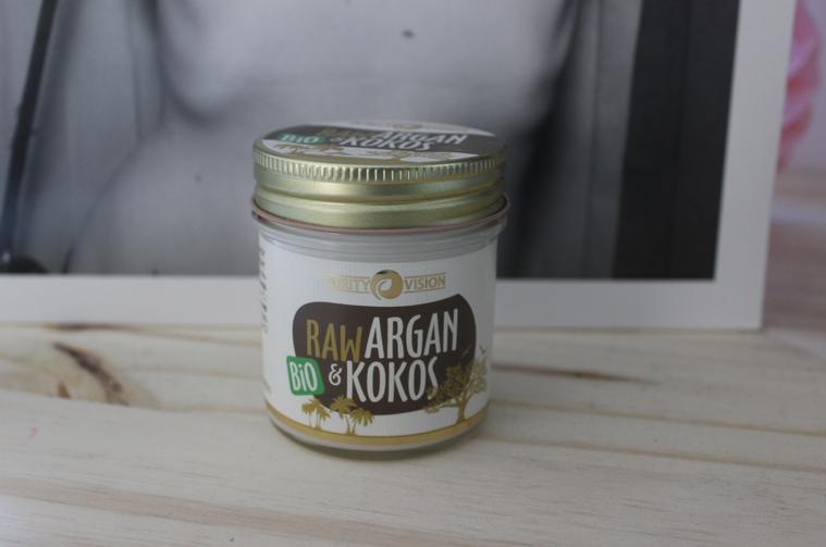 raw coco argan huile
