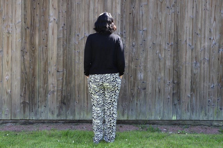 tenue jungle urbaine de dos blancheporte