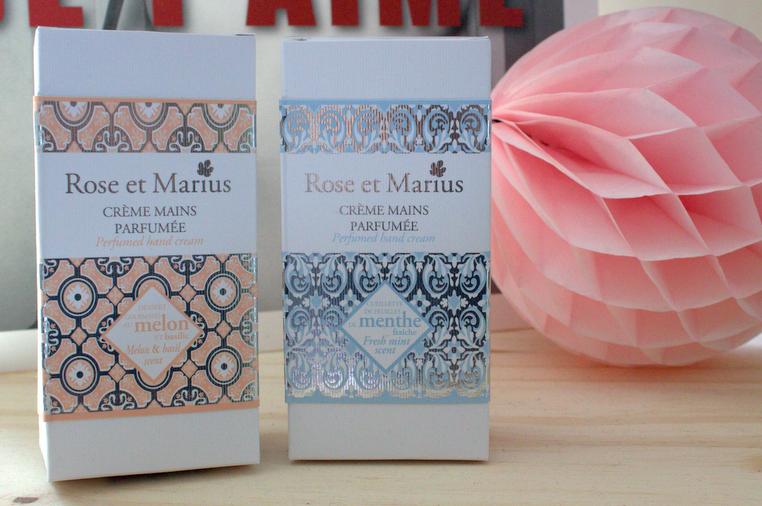 packaging rose et marius