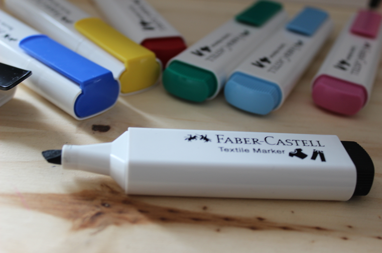 faber castell marqueurs textile